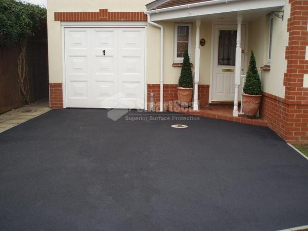 After completion of tarmac restoration